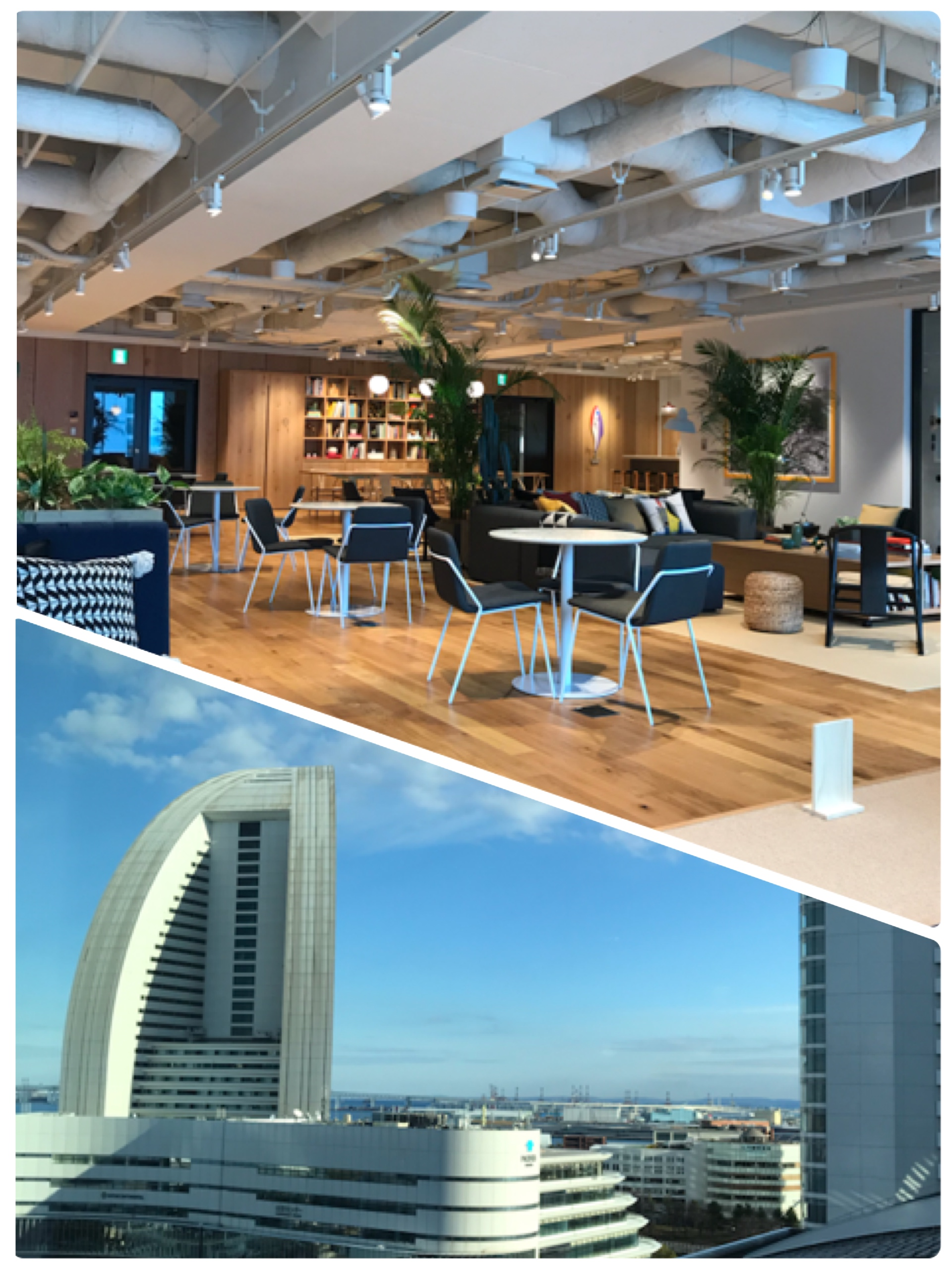 Office Relocation: WeWork Minatomirai in front of Pacifico Yokohama